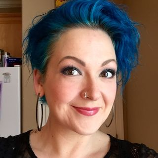40 with makeup
